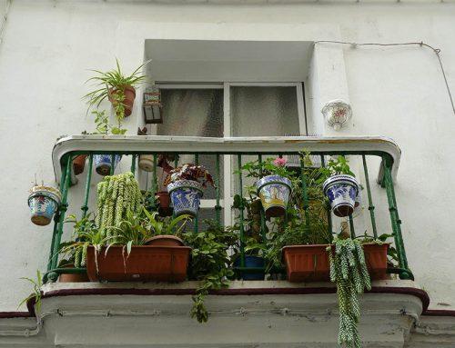 Jetzt noch schnell den Balkon einrichten